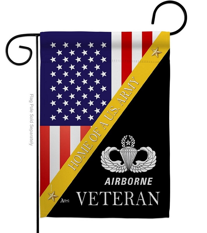 Home Of Airborne Garden Flag