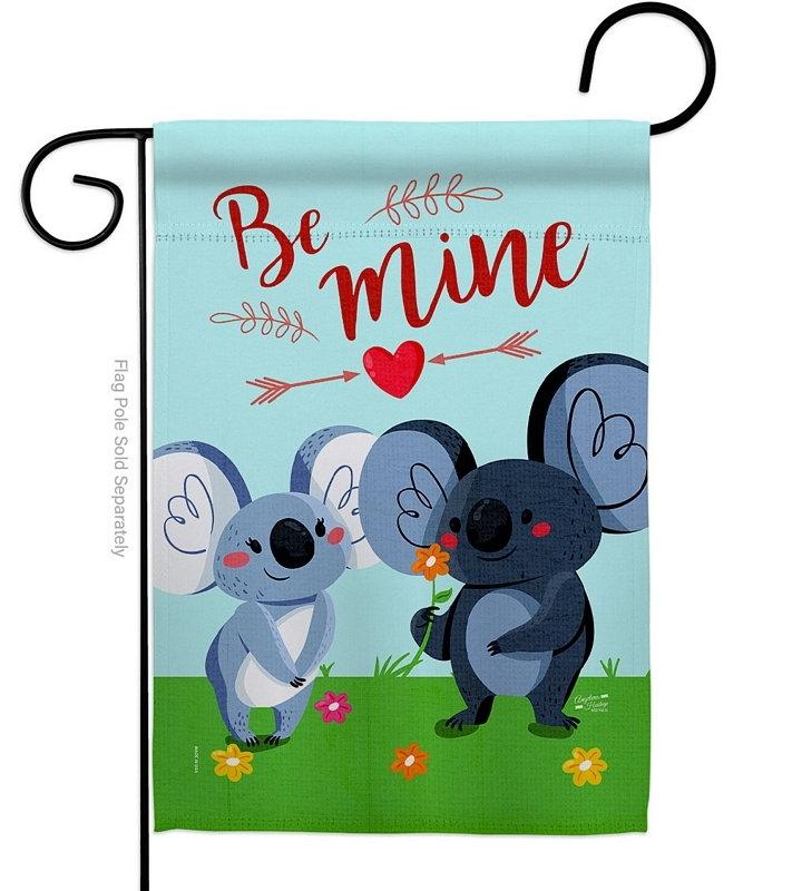 Koala Couples Garden Flag