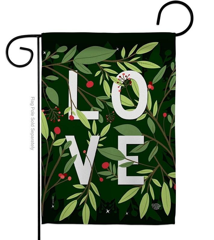 Love Decorative Garden Flag