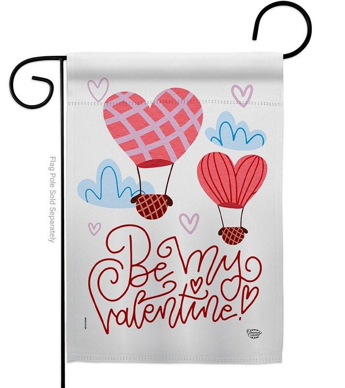 Be My Valentine Garden Flag