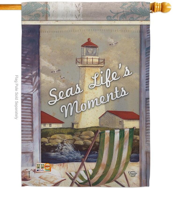 Seas Life's Moments House Flag