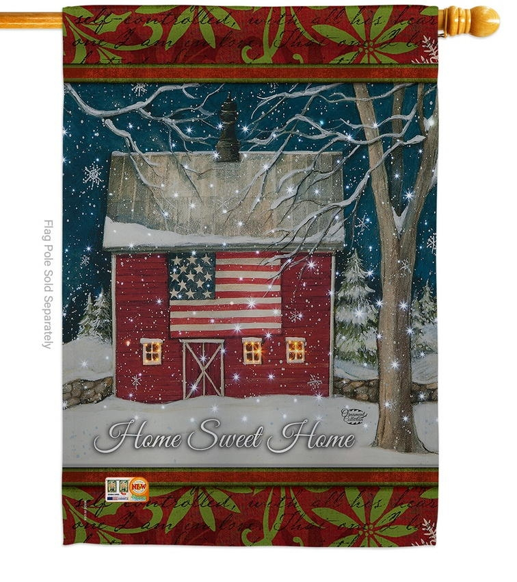 Sweet Home Wonderland House Flag