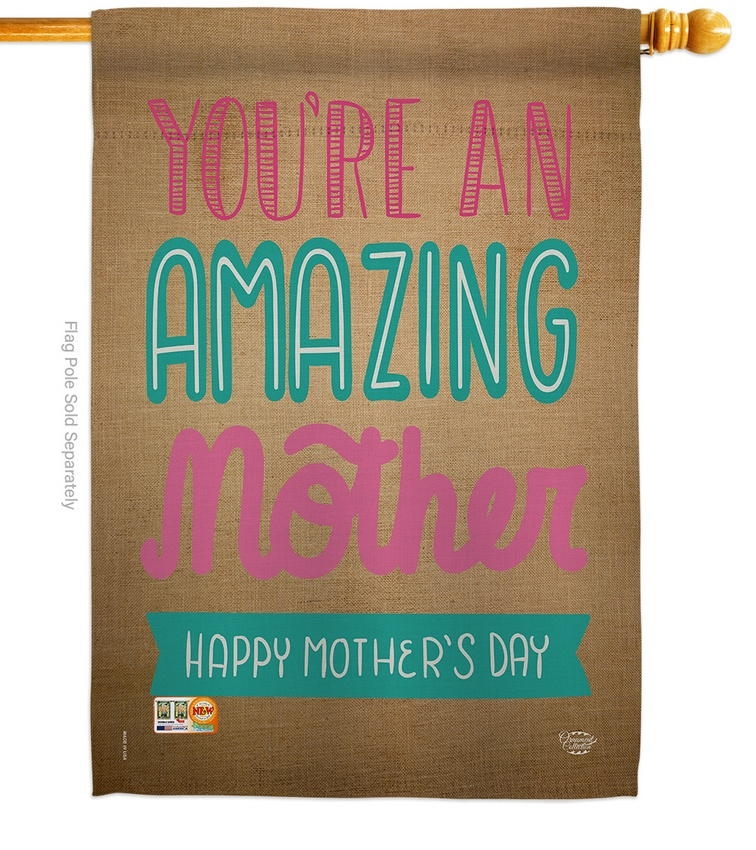 You're An Amazing Mother House Flag