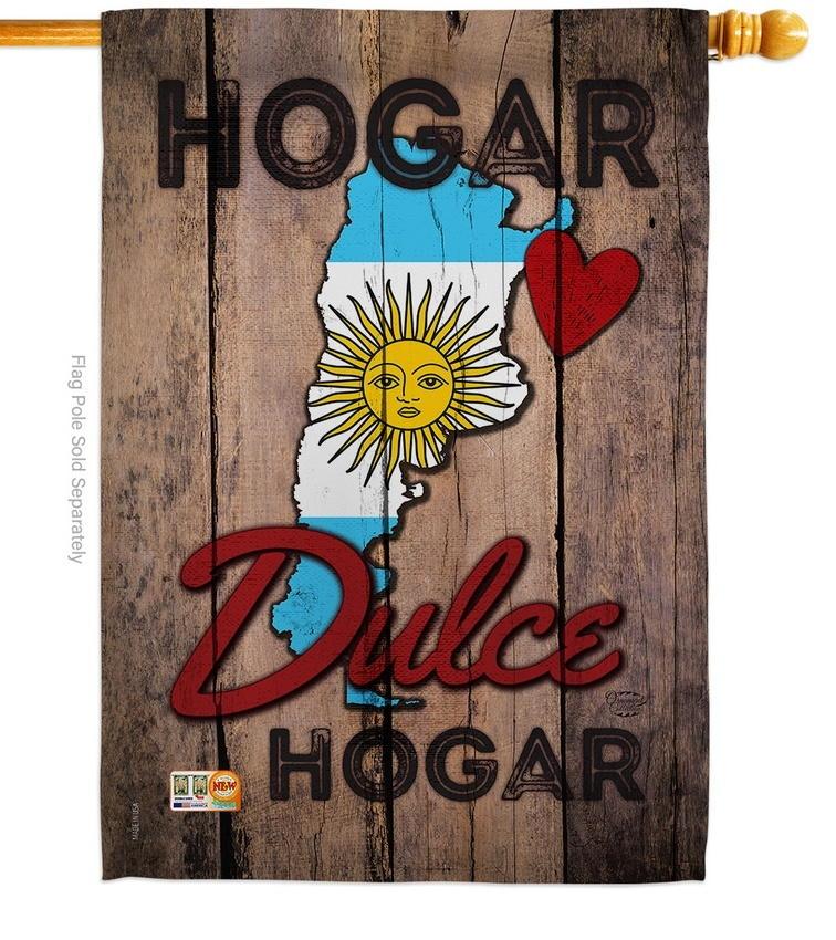 Argentina Hogar Dules House Flag