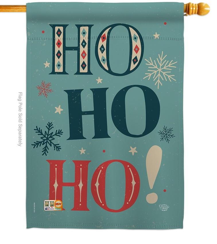 Ho Ho Ho House Flag