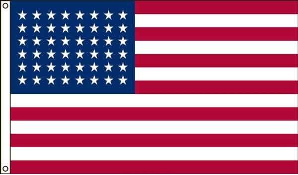 High Wind, US Made, USA 50 Star Flag 5x8
