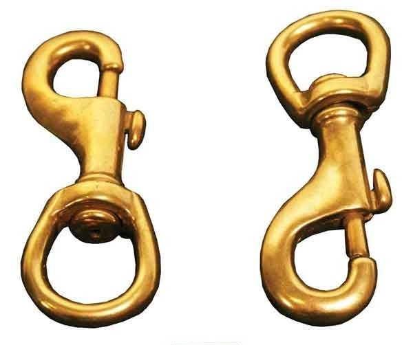US Made Brass Snap Hook