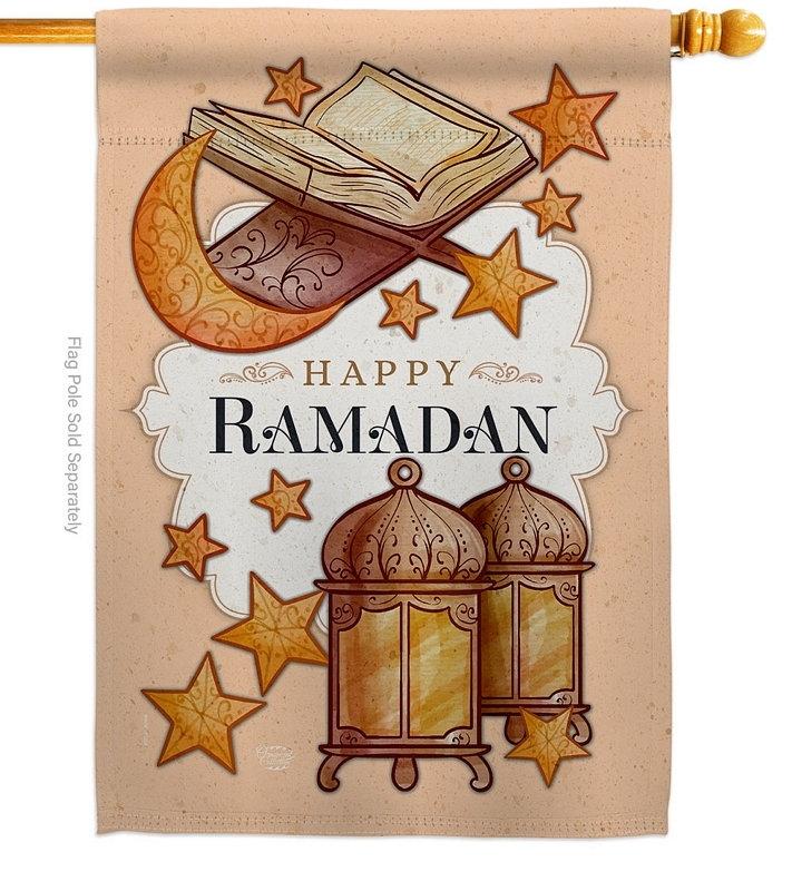 Happy Ramadan House Flag