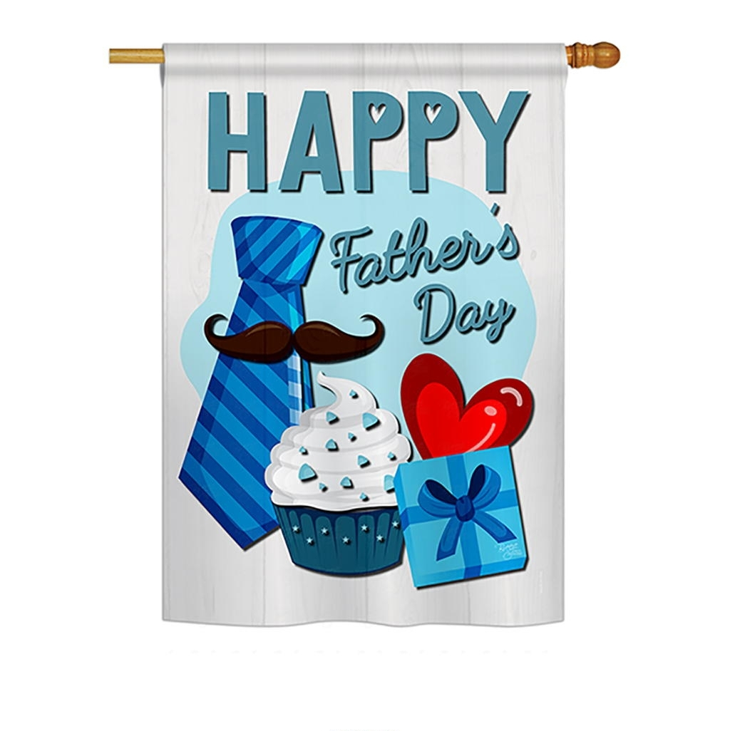 Happy Father's Day House Flag