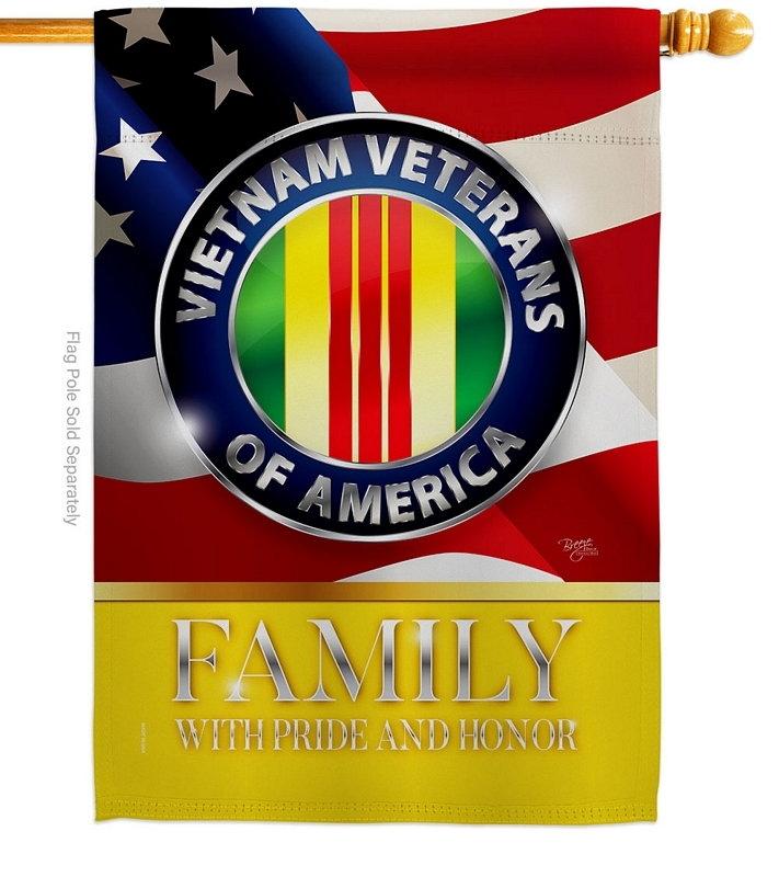 US Vietnam Veterans Family Honor House Flag