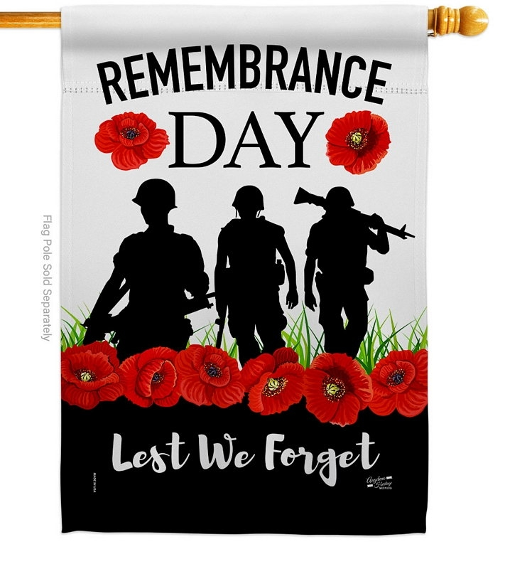 Lest We Forget House Flag