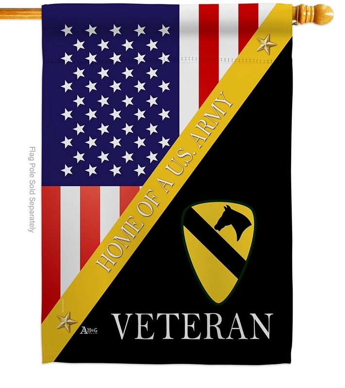 Home Of 1st Cavalry Division House Flag