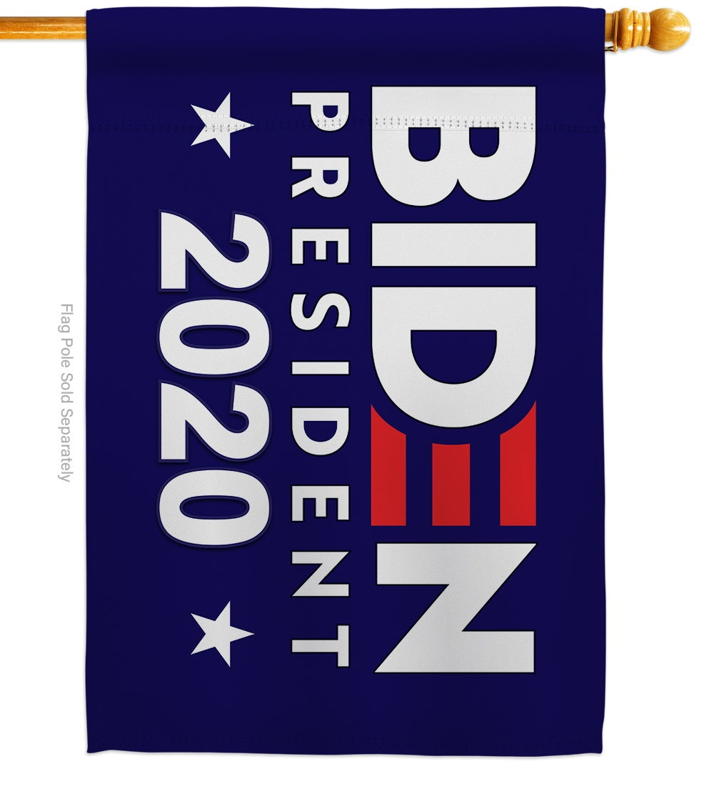 Biden President 2020 House Flag