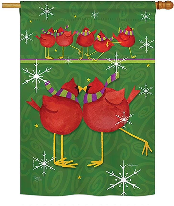 Callin All Cardinals House Flag