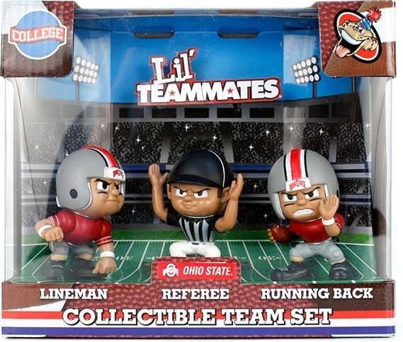 Ohio State Buckeyes Lil' Teammates Collectible Team Set