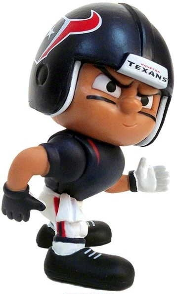 "Texans Lil' Teammates Wide Receiver 2 3/4"" tall"