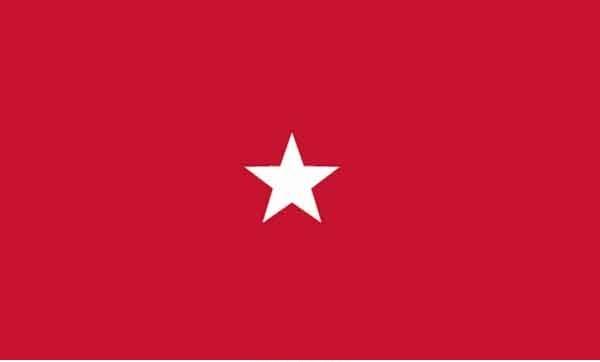 3' x 5' 1 Star Marine Corps High Wind, US Made Flag