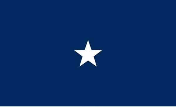 3' x 5' 1 Star Seagoing High Wind, US Made Flag