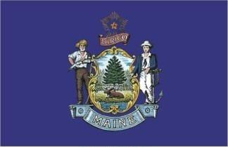 3' x 5' Maine State Flag