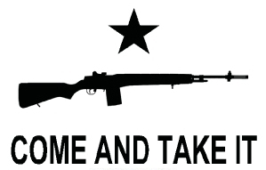 Come and Take It Flag - Rifle 3'x5'