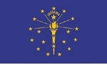 3' x 5' Indiana State Flag