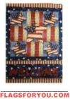 Welcome Patriotic House Flag - 15 left