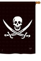 Calico Jack Rackham House Flag