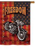 Americana Motorcycle Banner House Flag