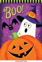 Boo Friends Garden Flag