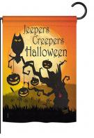 Jeepers Creepers Garden Flag