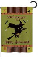 Witching You Garden Flag