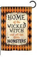 Wicked Home Garden Flag