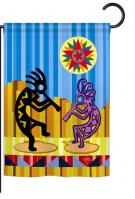 Kokopelli Dream Garden Flag