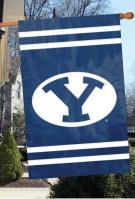 Brigham Young Cougars Applique Banner Flag 44\
