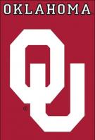 Oklahoma Sooners Applique Banner Flag 44\